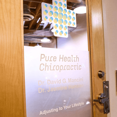 Chiropractic Minneapolis MN Office Door