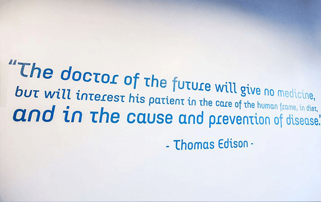 Chiropractic Minneapolis MN Thomas Edison Quote