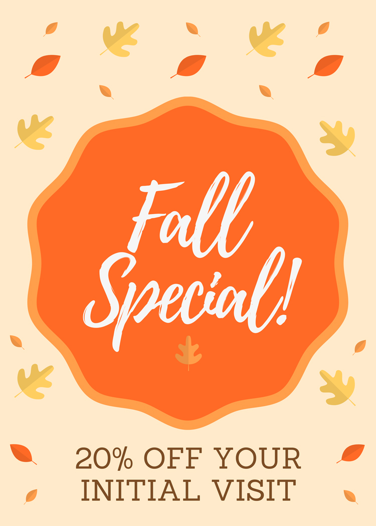 Fall Special at Pure Health Chiropractic