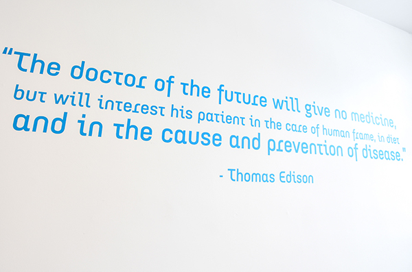 Chiropractic St. Paul MN Thomas Edison Quote